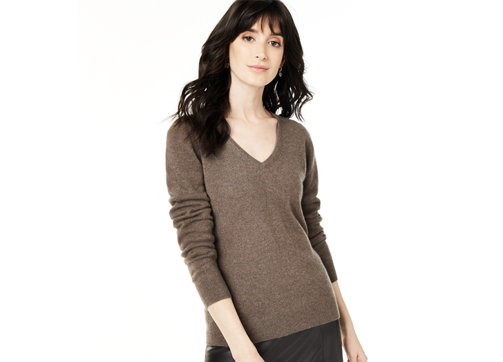 PureWow Readers' Favorite Cashmere Sweater Is On Sale for