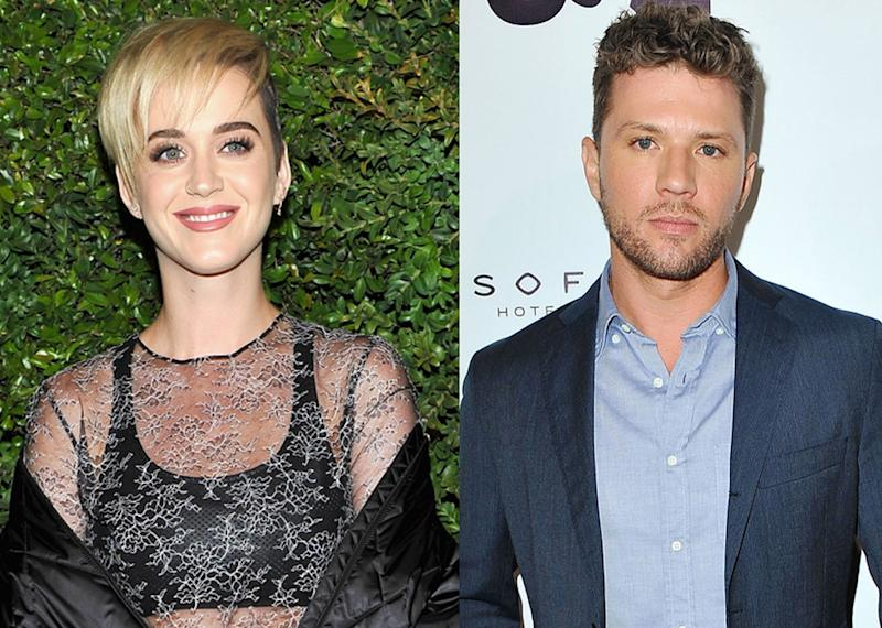Katy Perry and Ryan Phillippe are joking about their rumored romance on Twitter. (Photo: Getty Images)