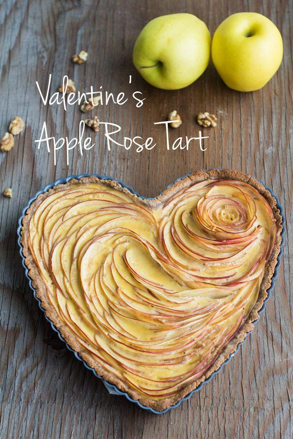 "<p>This Apple Rose Tart will steal your (you guessed it) heart this Valentine's Day. </p><p><strong>Get the recipe at <a href=""http://greenhealthycooking.com/valentines-apple-rose-tart/"" rel=""nofollow noopener"" target=""_blank"" data-ylk=""slk:Green Healthy Cooking"" class=""link rapid-noclick-resp"">Green Healthy Cooking</a>.</strong></p>"