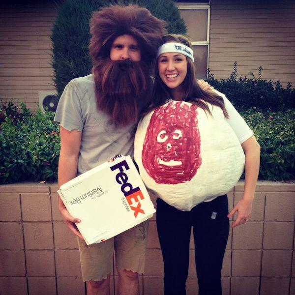 """<p>That volleyball got Tom Hanks's character through some tough times—not a bad basis for a couple's costume.</p><p><strong>Get the tutorial at <a href=""""http://www.richardandemilybean.com/becoming-wilson/"""" rel=""""nofollow noopener"""" target=""""_blank"""" data-ylk=""""slk:The Odd Happenings of Mr and Mrs Bean"""" class=""""link rapid-noclick-resp"""">The Odd Happenings of Mr and Mrs Bean</a>.</strong> </p>"""
