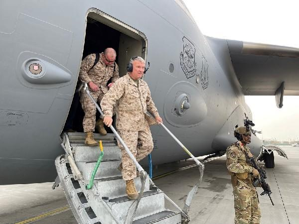 Head of US Central Command, General Frank McKenzie. (Photo Credit - Reuters)