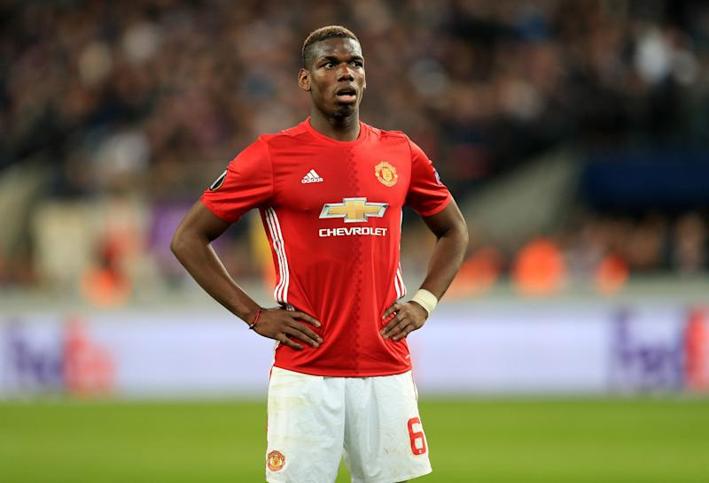 Man United megastar Paul Pogba couldn't find the net in Belgium.