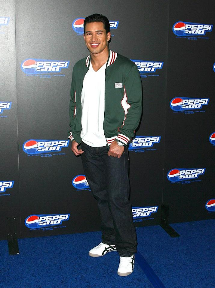 "Mario Lopez shows off his trademark dimples. Jordan Strauss/<a href=""http://www.wireimage.com"" target=""new"">WireImage.com</a> - August 27, 2008"