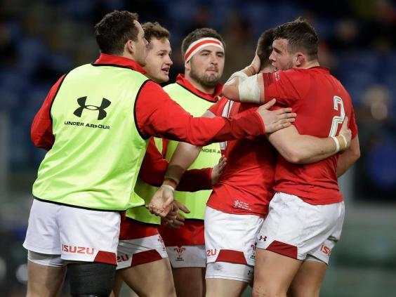 Wales are riding their own wave of momentum after defeating Italy 26-15 (AP)