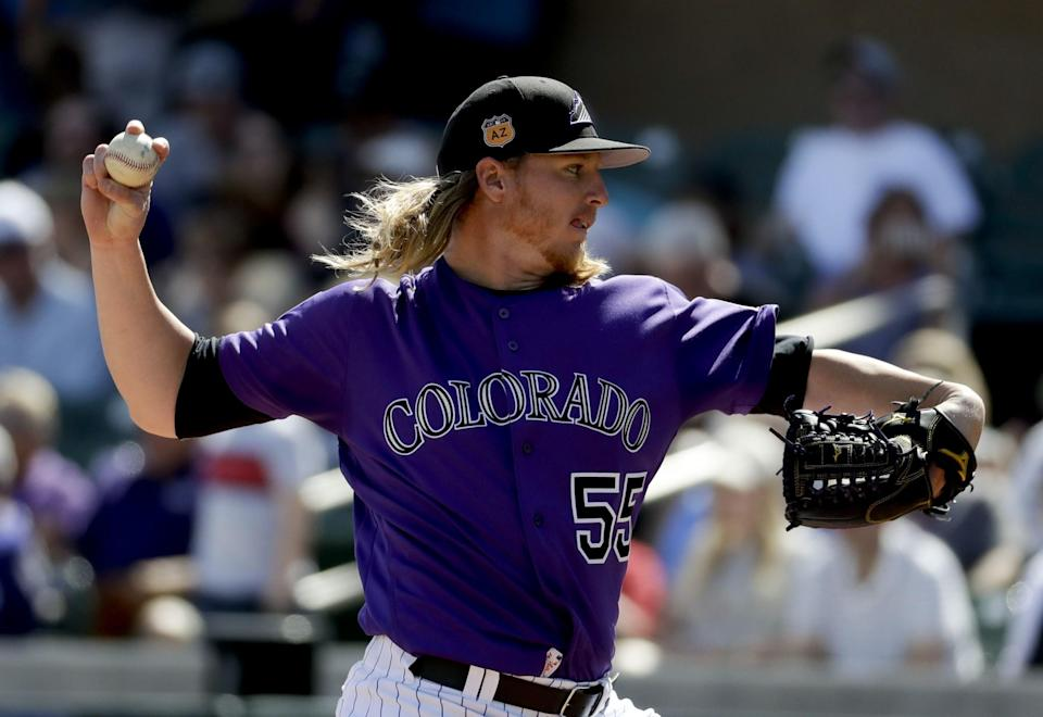Jon Gray will need to make the ascension to ace for the Rockies this season. (AP)