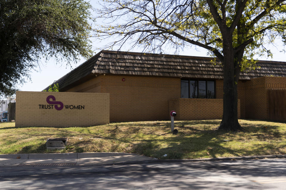 The Trust Women clinic in Oklahoma City, Okla., Sept. 23, 2021. (Nick Oxford/The New York Times)