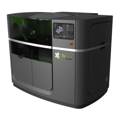 The ExOne Company Introduces the All New X1 25PRO™ 3D Printing Machine