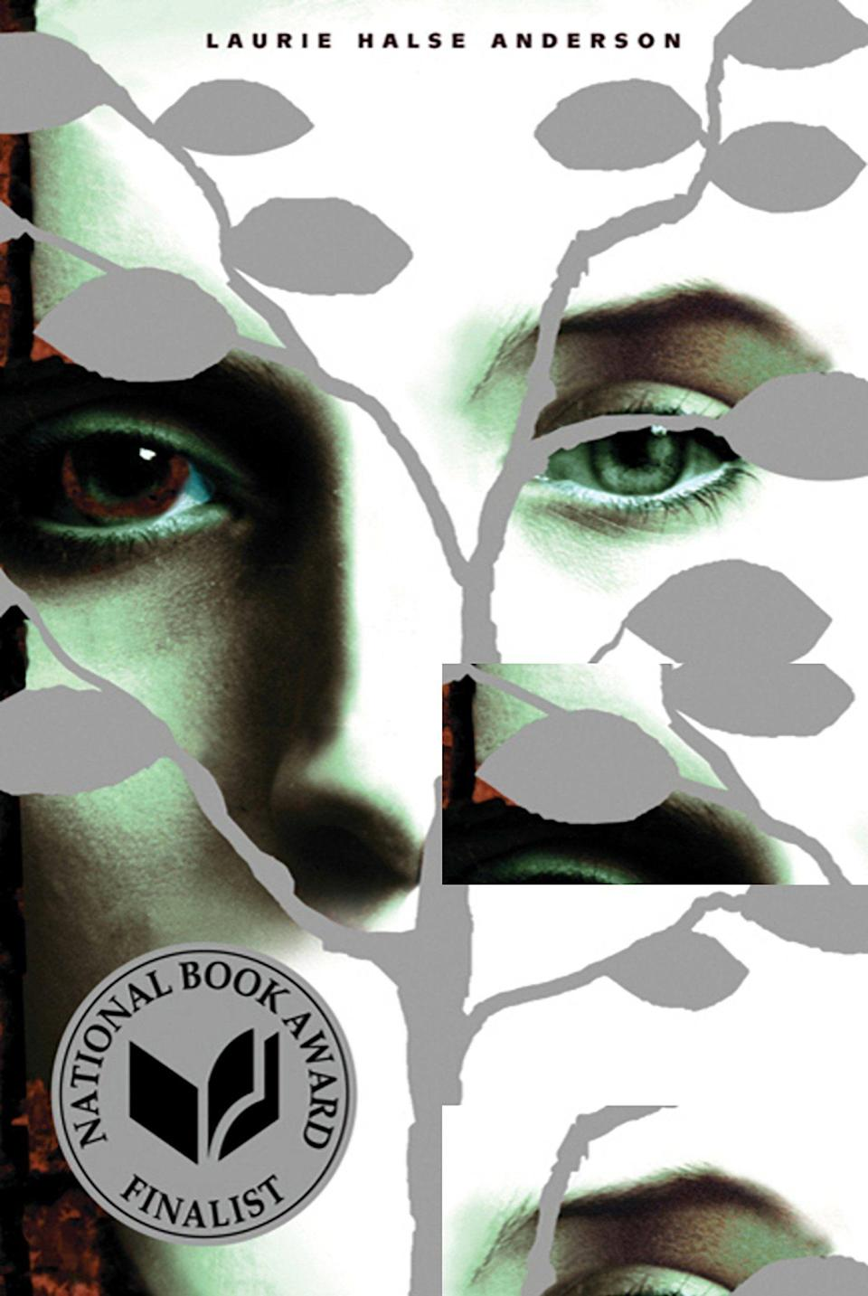 """<p><strong>Laurie Halse Anderson</strong></p><p>amazon.com</p><p><strong>$9.68</strong></p><p><a href=""""https://www.amazon.com/dp/0312674392?tag=syn-yahoo-20&ascsubtag=%5Bartid%7C10055.g.22749180%5Bsrc%7Cyahoo-us"""" rel=""""nofollow noopener"""" target=""""_blank"""" data-ylk=""""slk:Shop Now"""" class=""""link rapid-noclick-resp"""">Shop Now</a></p><p>This National Book Award finalist addresses the complicated challenges that surround speaking up about rape and assault. If you don't know how to start a conversation with your teen on the topic, let this powerful book guide the conversation. </p>"""