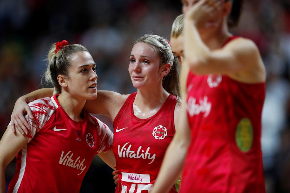 England's Natalie Panagarry (left) is looking forward to Birmingham 2021 after winning Superleague with Loughborough Lightning