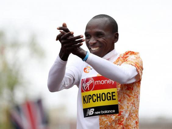 Kipchoge will attempt to break the two-hour barrier (Getty)