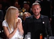 """<p>This former pairing can be credited as the founding members of the amicable exes club after their """"conscious uncoupling"""" in early 2014. So friendly are the actress turned entrepreneur and her Coldplay frontman ex, that Gwyneth recently revealed her former spouse joined her and her new husband Brad Falchuk on their honeymoon. Speaking on US talk show 'Live With Kelly And Ryan', Paltrow described her unusual honeymoon. """"We had a big family honeymoon over Christmas,"""" she said. """"My new husband, and his children, my children, my ex-husband, our best family friends. A very modern honeymoon."""" <em>[Photo: Getty]</em> </p>"""