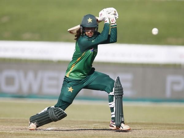 Pakistan all-rounder Aliya Riaz (Image: PCB Media)