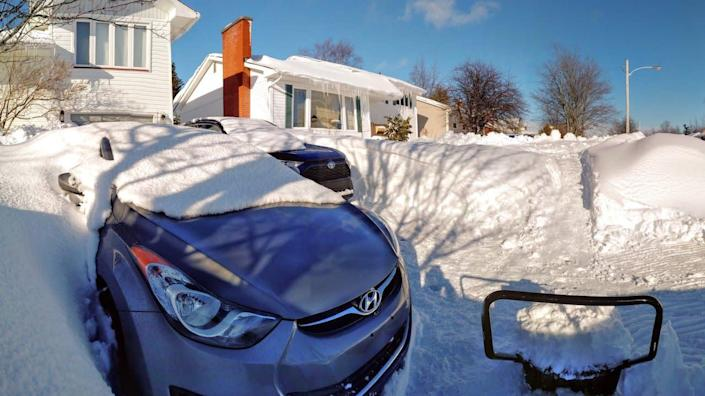 Winter's almost over, yet the East Coast is blasted with 50 cm of snow