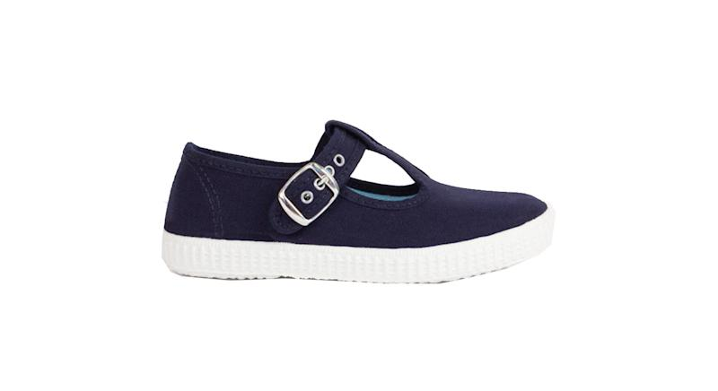 Navy Hampton Canvas Nantucket Shoes
