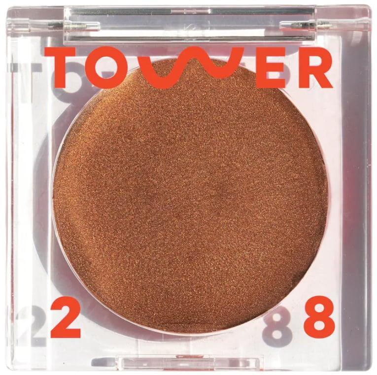 """<p>""""It took me longer than I'd like to admit to discover the magic of the <span> Tower 28 Beauty Bronzino Illuminating Cream Bronzer </span> ($20), but now that I've tried it, I can't put it down. This cream formula melts beautifully into my skin and gives my face even, natural-looking color. I like to blend it into my temples, cheeks, and jawline, and have to stop myself from applying it literally everywhere else."""" - JH</p>"""
