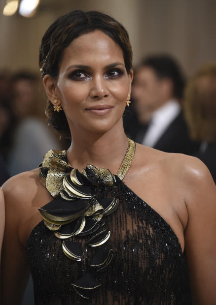 Halle Berry attends The Metropolitan Museum of Art's Costume Institute benefit gala celebrating the opening of the Rei Kawakubo/Comme des Garçons: Art of the In-Between exhibition on Monday, May 1, 2017, in New York. (Photo by Evan Agostini/Invision/AP)