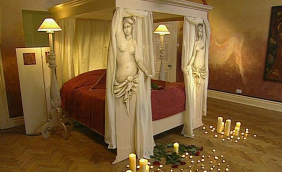 Laurence Llewelyn-Bowen was convinced the erotic room would cause him to lose his job on 'Changing Rooms'. (BBC)
