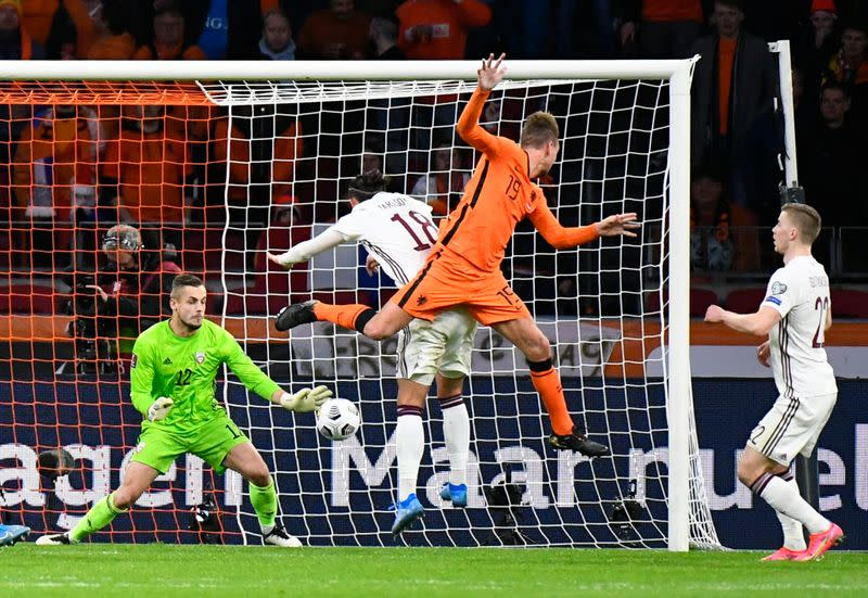 World Cup Qualifiers Europe - Group G - Netherlands v Latvia