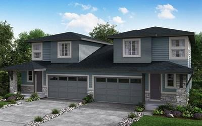 Alder Village's new paired homes in Parker offer 4 floorplans ranging from 1,450 - 3,044 sq. ft. with 2 to 4 bedrooms and include 2-bay attached garages. Personalize with an optional gourmet kitchen or unfinished basement.