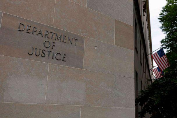 PHOTO: In this file photo taken on July 22, 2019, the U.S. Department of Justice building is seen in Washington, D.C. (Alastair Pike/AFP via Getty Images)