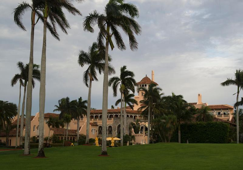 The Mar-a-Lago resort in Palm Beach, Florida: DON EMMERT/AFP/Getty Images