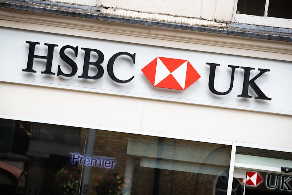 HSBC revealed that profits more than doubled for the past half-year (Aaron Chown/PA) (PA Archive)