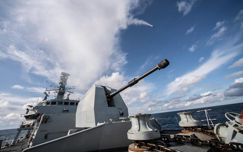 Sea Ceptor, which will be carried by the Royal Navy's Type 23 frigates, provides a powerful shield against airborne threats, including hostile combat jets, helicopters and other missiles