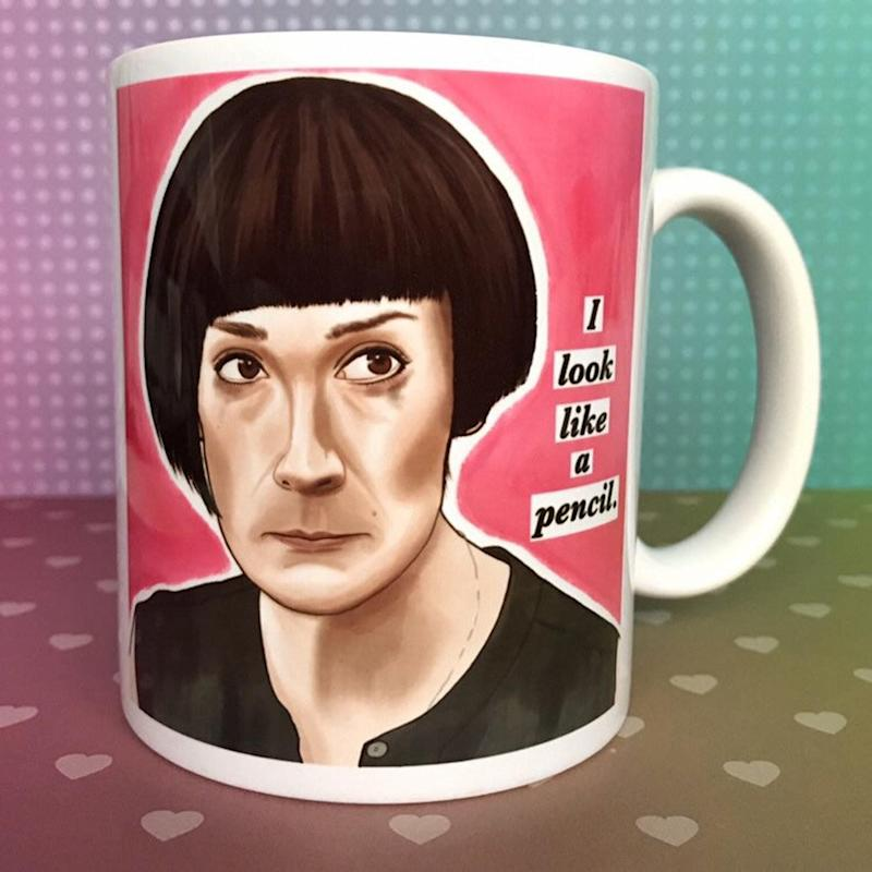 """If your friend hasn't watched """"Fleabag"""" are you even friends? This mug, featuring one of season 2's most brilliant and hilarious lines, is a must-have for fans. (We bought one for ourselves.) <a href=""""https://www.etsy.com/ca/listing/748280813/fleabag-mug-11oz-giftboxed?ref=user_profile&amp;bes=1"""" target=""""_blank"""" rel=""""noopener noreferrer"""">Get it for $20 on Etsy.</a>"""