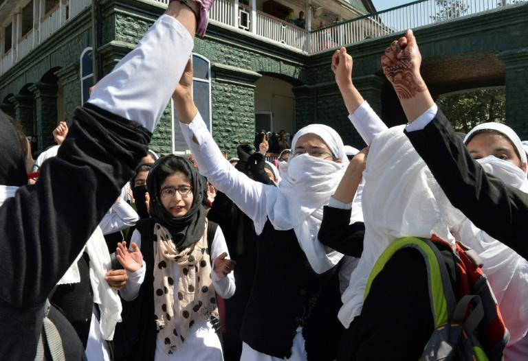 The Kashmir University Students Union, a banned student body, had called for protests in all colleges and universities following Saturday's incident