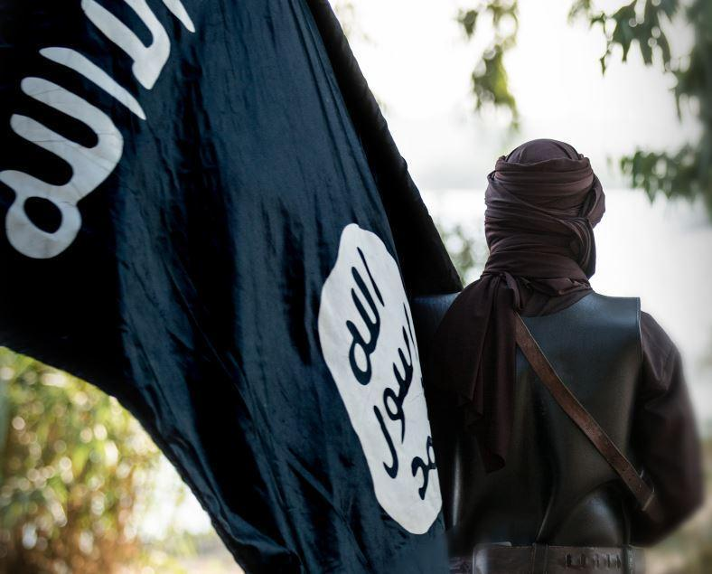 <p>Counterterror police warn that coronavirus has created a 'perfect storm' for online radicalisation</p> (Dabiq)