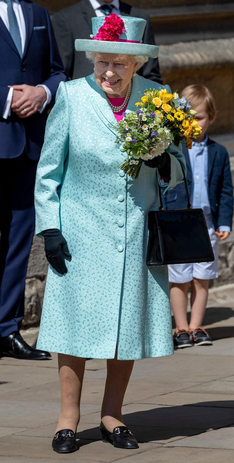 The queen celebrated her 93rd birthday on Sunday. (Photo: Mark Cuthbert via Getty Images)