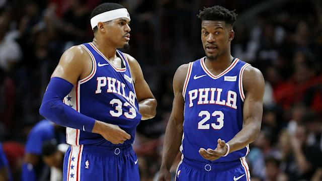As they approach free agency, Jimmy Butler and Tobias Harris talked about their Philadelphia 76ers futures.