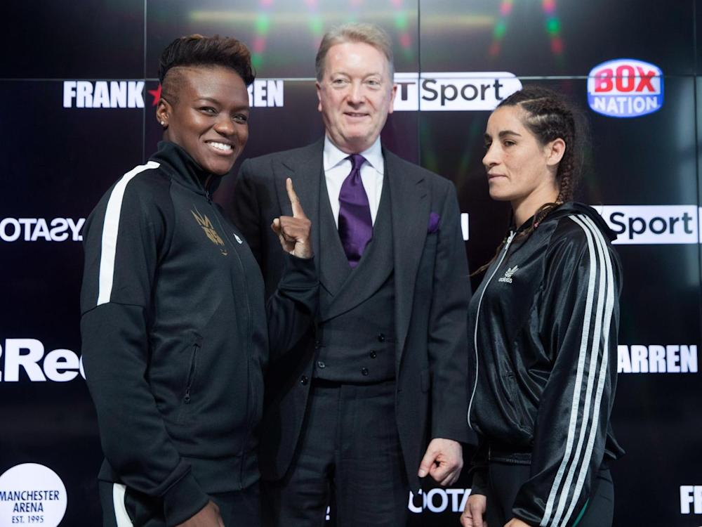 Warren says Adams changed his perception of women's boxing (Getty)