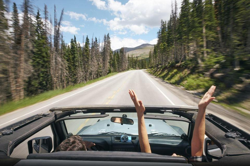 """<p>It doesn't have to be far, just drive someplace you both have never been before. Adventure, no matter how big or small, is a powerful aphrodisiac. </p><p><a class=""""link rapid-noclick-resp"""" href=""""https://www.amazon.com/s?k=snacks&ref=nb_sb_noss_1&tag=syn-yahoo-20&ascsubtag=%5Bartid%7C10050.g.35949770%5Bsrc%7Cyahoo-us"""" rel=""""nofollow noopener"""" target=""""_blank"""" data-ylk=""""slk:SHOP SNACKS"""">SHOP SNACKS</a></p>"""