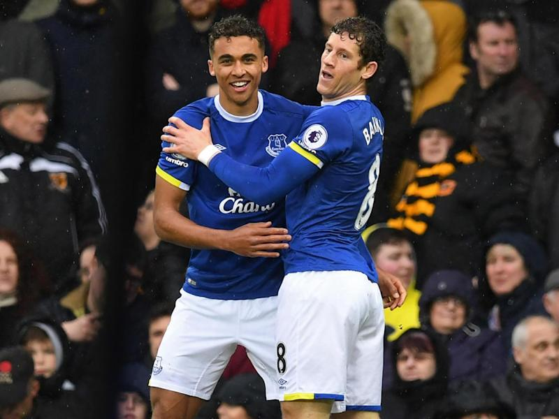 Calvert-Lewin and Barkley celebrate (Getty)