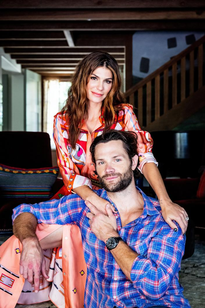 """A final look at the Padaleckis. """"We really wanted [our home] to look as though it had been here for 100 years,"""" says Genevieve."""