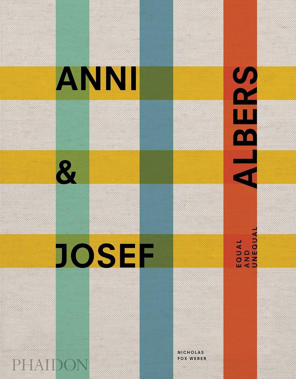"""<p>Chronicling the incredible travels and careers of Anni and Josef Albers, Equal and Unequal is a beautiful book brimming with personal anecdotes and artistic highlights from the couple's private and creative relationship. Showcasing more than 750 artworks across 500 pages, the volume charts their meeting at the legendary Bauhaus school in 1922, their travels around Mexico and the pieces of Pre-Columbian art they collected there, and their life in Connecticut. It offers a fascinating insight into two of the 20th century's greatest creative minds.</p><p><a href=""""https://www.amazon.co.uk/Anni-Josef-Albers-Unequal-GENERAL/dp/1838661425"""" rel=""""nofollow noopener"""" target=""""_blank"""" data-ylk=""""slk:'Anni & Josef Albers: Equal and Unequal'"""" class=""""link rapid-noclick-resp"""">'Anni & Josef Albers: Equal and Unequal'</a> by Nicholas Fox Weber (£100, Phaidon) is out on 5 November.</p>"""