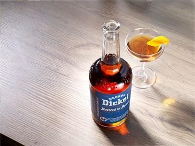 At 100 proof, George Dickel Bottled in Bond Distilling Season Spring 2007 is best enjoyed neat or on the rocks and plays well in many classic cocktails like a Perfect Manhattan thoughtfully garnished with an orange peel to further amplify the fruit notes found in the liquid.