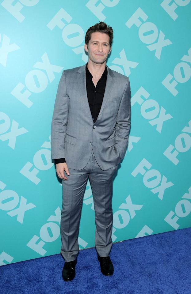 NEW YORK, NY - MAY 13:  Matthew Morrison attends FOX 2103 Programming Presentation Post-Party at Wollman Rink - Central Park on May 13, 2013 in New York City.  (Photo by Ilya S. Savenok/Getty Images)