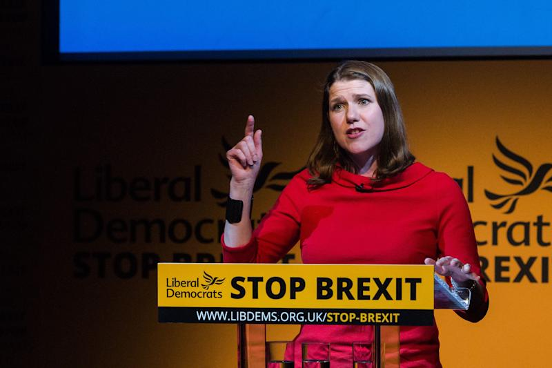 Jo Swinson is seen as the favourite to win the Lib Dem leadership. (Photo: Barcroft Media via Getty Images)