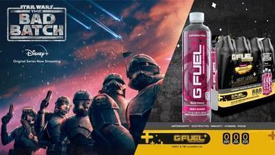 G FUEL Sparkling Hydration comes in two refreshing flavors: Black Cherry (pictured) and Kiwi Strawberry. Both flavors are available for U.S. customers to pre-order now through May 10th at gfuel.com/collections/bad-batch-hydration while supplies last. Pre-orders will start shipping in June.