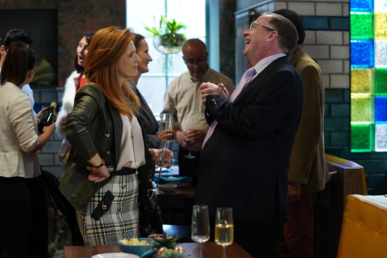 <p>He hosts an event to plug his Walford councillor campaign.</p>