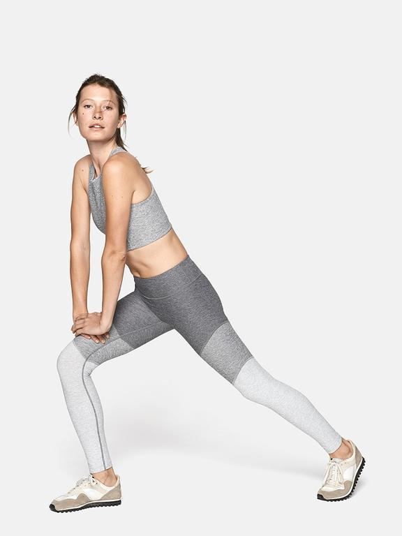"""<h3>Colorblocked Leggings<br></h3><br>For those who can't settle on a single hue — and really, who can? — multicolored leggings are here to save you. Always tonal, never boring, these cluster-color bottoms satisfy the desire for leggings in multiple colorways.<br><br><strong>Outdoor Voices</strong> 7/8 Spring Leggings, $, available at <a href=""""https://go.skimresources.com/?id=30283X879131&url=https%3A%2F%2Fwww.outdoorvoices.com%2Fproducts%2F7-8-springs-legging-1%3Fvariant%3D25707283909"""" rel=""""nofollow noopener"""" target=""""_blank"""" data-ylk=""""slk:Outdoor Voices"""" class=""""link rapid-noclick-resp"""">Outdoor Voices</a>"""