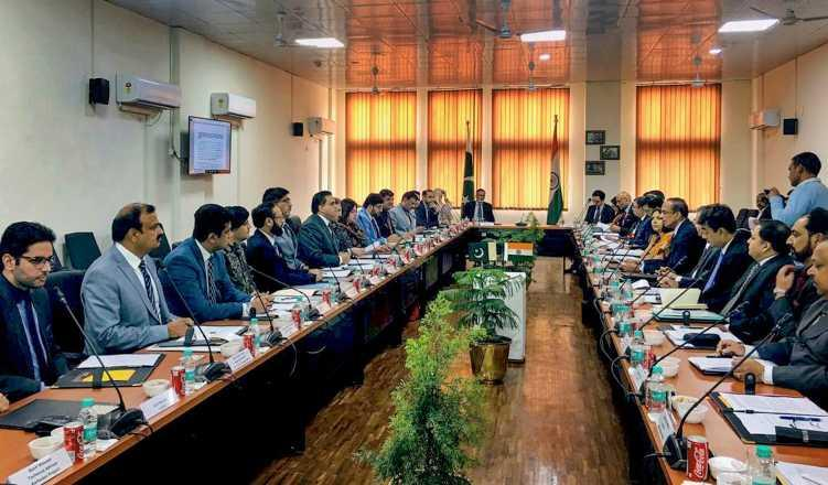 India, Pak officials meet, discuss modalities for Kartarpur corridor