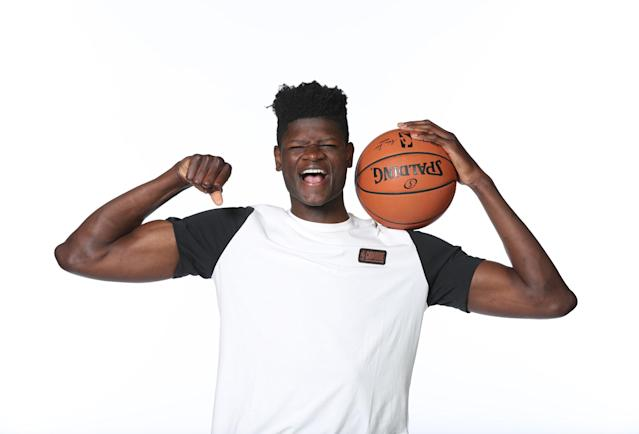 Mohamed Bamba and his immense potential are moving up draft boards. (Getty)
