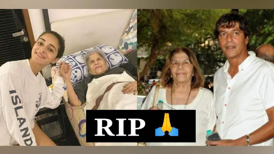 After Ananya, Chunky Panday shares heartfelt-post for late mother Snehalata