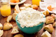 """<p>Serve this dip with pretzels, crackers, carrots, or bagels. You really can't go wrong. </p><p>Get the recipe from<a href=""""https://www.delish.com/cooking/recipe-ideas/recipes/a44874/everything-bagel-dip/"""" rel=""""nofollow noopener"""" target=""""_blank"""" data-ylk=""""slk:Delish"""" class=""""link rapid-noclick-resp""""> Delish</a>.</p>"""