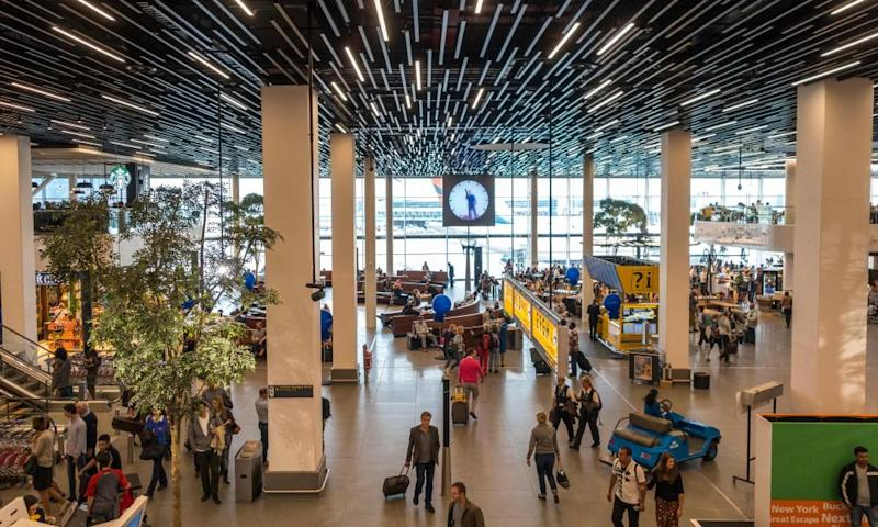 In Schiphol Airport, Philips have installed lighting as an ongoing service, which it is thought will see a 50% reduction in energy consumption.