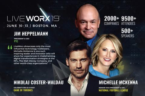 NFL CIO Michelle McKenna and Game of Thrones' Nikolaj Coster-Waldau Round Out All-Star Lineup at LiveWorx