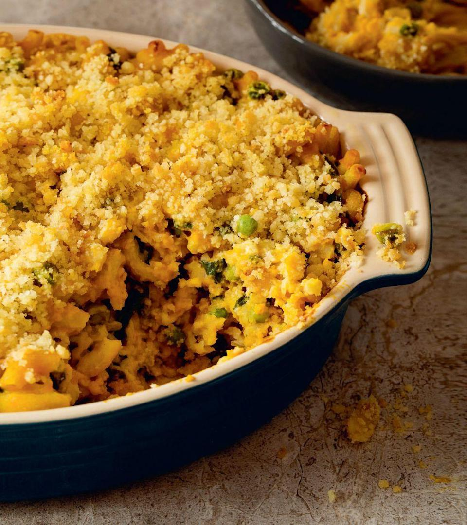 """<p>""""My kids never say no to mac and cheese, and I never say no to taking care of dinner and lunch the next day with <a href=""""http://www.ediblefeast.com/recipes/baked-macaroni-and-cheese-peas-and-chard"""" rel=""""nofollow noopener"""" target=""""_blank"""" data-ylk=""""slk:(this) recipe"""" class=""""link rapid-noclick-resp"""">(this) recipe</a> – especially when it's packed with veggies like winter squash, Swiss chard and peas!"""" - Terry Walters, <i><a href=""""http://terrywalters.net/blog/"""" rel=""""nofollow noopener"""" target=""""_blank"""" data-ylk=""""slk:Eat Clean, Live Well"""" class=""""link rapid-noclick-resp"""">Eat Clean, Live Well</a></i><br><br><i>(Photo: Julie Bidwell)</i></p>"""